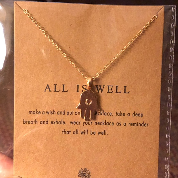 Jewelry - All Is Well Necklace